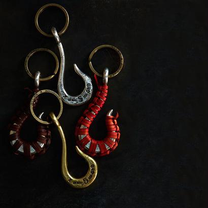 G&B - Hook Keyring Silver