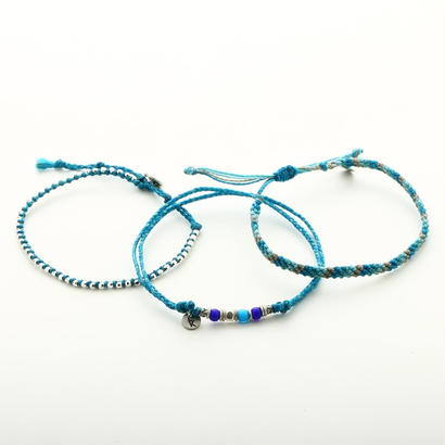 wakami - Anklets-set of 3 TQ  BC-17009