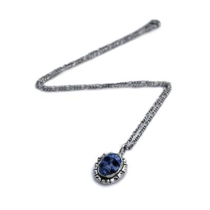 LEE DOWNEY - Skull Pendant (Lapis lazuli)
