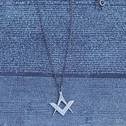 TIME   Emblem Necklace( SILVER)