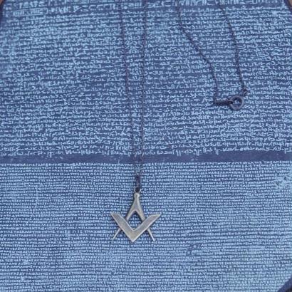 TIME  Emblem Necklace( BRASS)