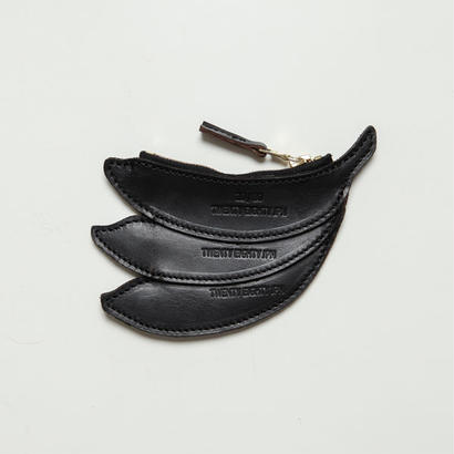 20/80トゥエンティーエイティー/ KIP LEATHER BANANA COIN CASE/BK