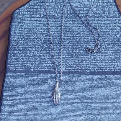 TIME  Hand Necklace(SILVER)