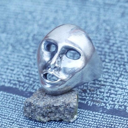 TIME    Mask Ring(SILVER)