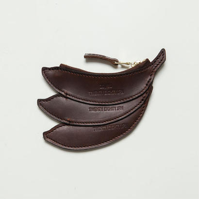 20/80トゥエンティーエイティー/ KIP LEATHER BANANA COIN CASE/BR