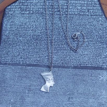 TIME  Pharaoh Necklace(SILVER)