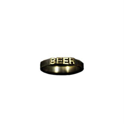 "Varde77×THEFT MESSAGE RING S ""BEER"""