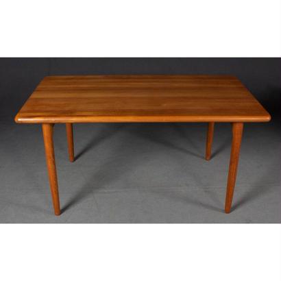 Model 24A Dining Table Teak by N.O. Møller For J.L. Møller