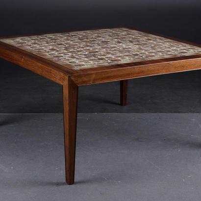 """Baca"" Tile Top Coffee Table 95x95"