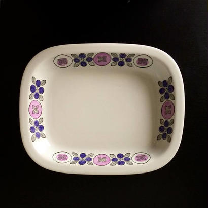 "Square Platter ""Spisa""for Rorstrand"