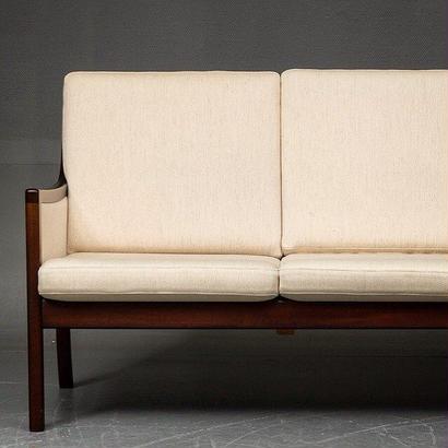 Ole wanscher  PJ3SeaterSofa&LoungeChairx2,Side Table Set