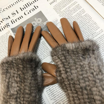 mink glove cover