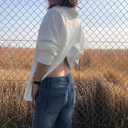 back conscious shirt