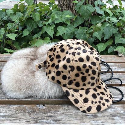 leopard cap