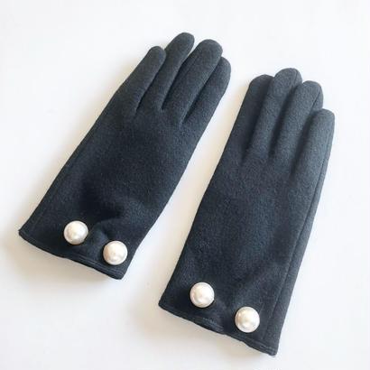 スマホ対応 wool glove