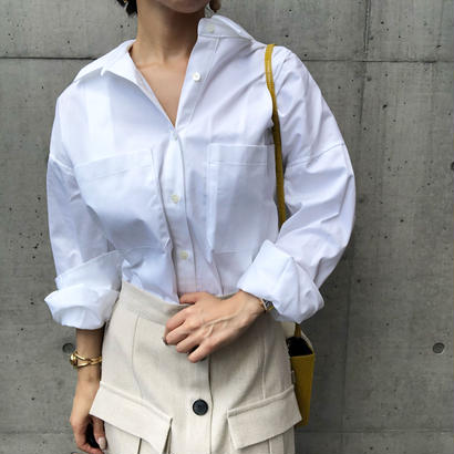 big silhouette blouse