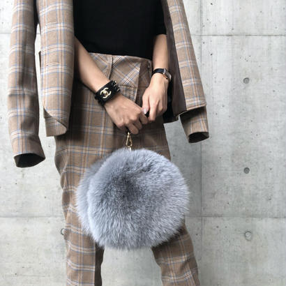 real fox bag