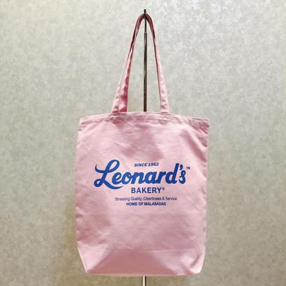 Leonard'sロゴ入りトートバッグ(M)(ピンク)