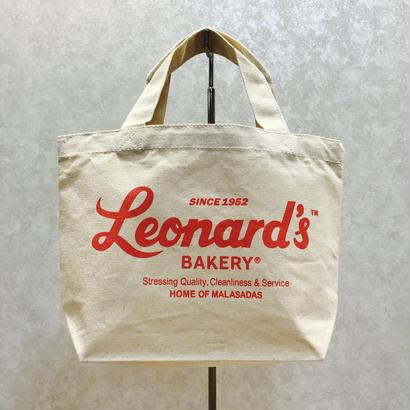 Leonard'sロゴ入りトートバッグ(S)(ナチュラル)
