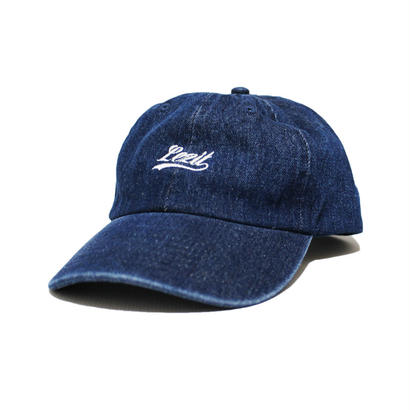Denim Cursive Cap [Dark Blue]