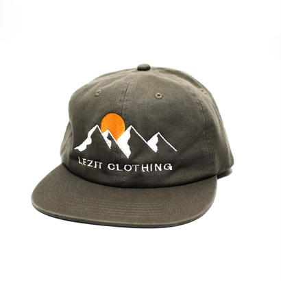 Mountain 6panel Cap