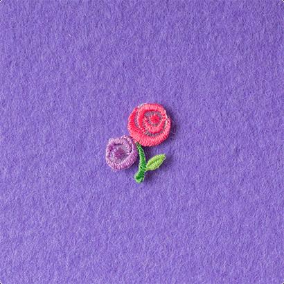 モチーフワッペン/バラ
