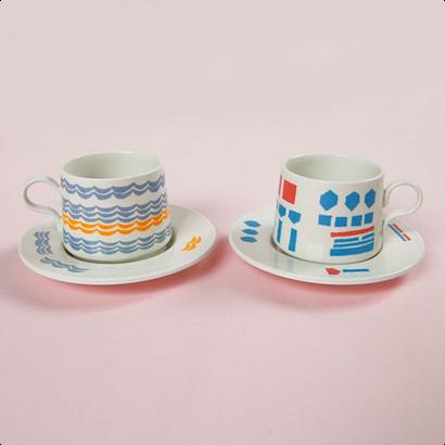[Sabato]coffee cup & saucer