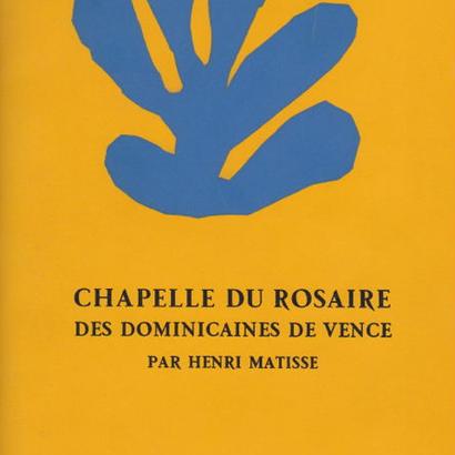 CHAPELIE DU ROSAIRE / HENRI MATISSE(ポストカード5枚付き)