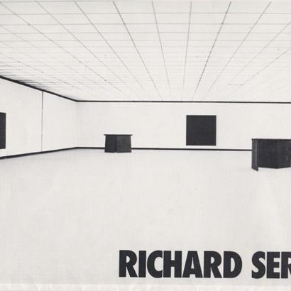 DONALD JUDD/RICHARD SERRA