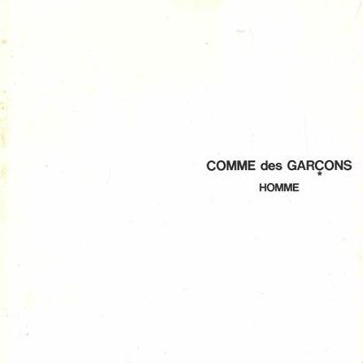 COMME des GARCONS HOMME CATALOGUE No.20