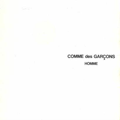 COMME des GARCONS HOMME CATALOGUE No.19