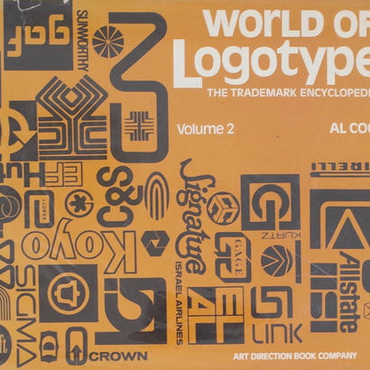 WORLD OF LOGOTYPES THE TRADEMARK ENCYCLOPEDIA Volume 2 / AL COOPER