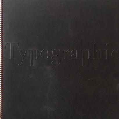 typographie / walter mari , Walter Bangerter