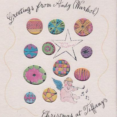 Greeting from Andy Warhol:Christmas at Tiffanys