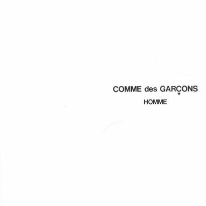 COMME des GARCONS HOMME CATALOGUE No.23