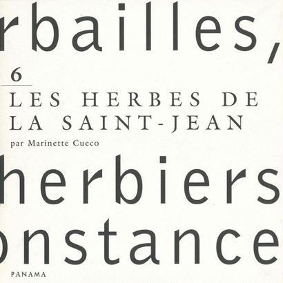Herbailles, herbiers de circonstance, Tome 6 / Marinette Cueco