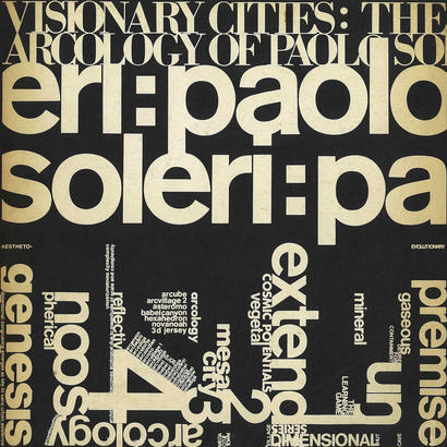 Visionary Cities:Arcology of Paolo Soleri