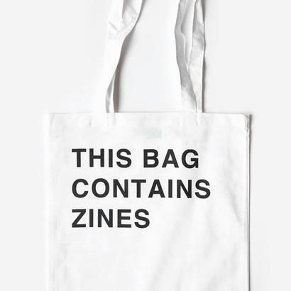 THIS BAG CONTAINS ZINES