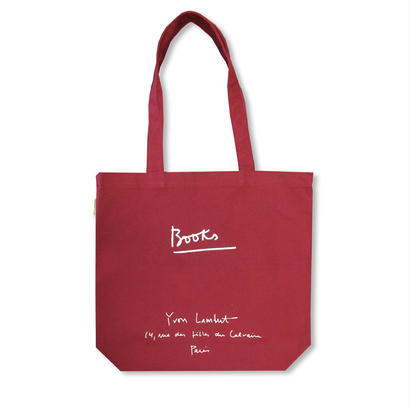 YVON LAMBERT TOTE BAG : REGULAR / BURGUNDY