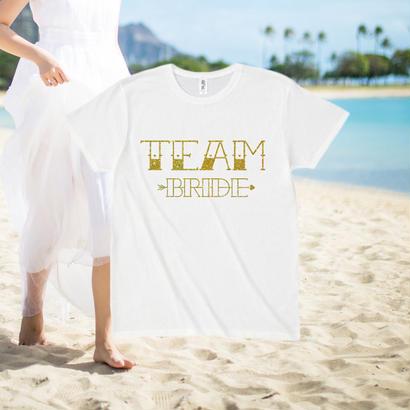 TEAM BRIDE - gold arrow -