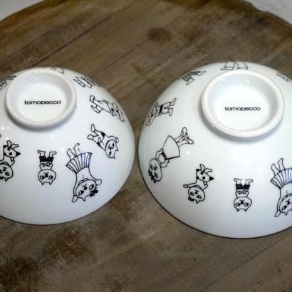 【tomopecco】〈ねこ〉    茶碗・大
