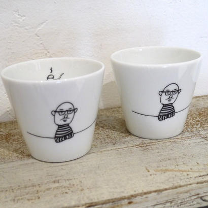 【tomopecco】〈おやじ〉   フリーカップ