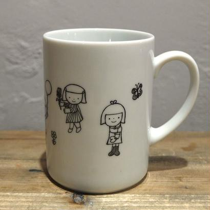【tomopecco】〈風船〉    マグカップ