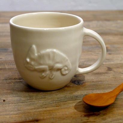 【野村亜土さん】マグカップ (カメレオン)