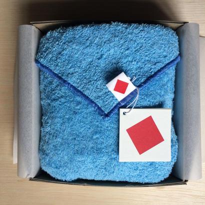 3月の送料無料 ギフトセット [限定] リトルボッコパイル another side  46×96cm ブルースカイ × ブルー