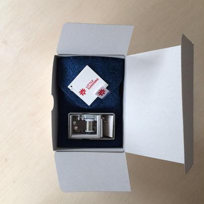 8月の送料無料 ギフトセット リトルサンシャイン チーフタオル(23×23cm) 1枚 / ムーンライトインディゴ+リトルラック オルゴール