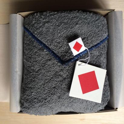 3月の送料無料 ギフトセット [限定] リトルボッコパイル another side  46×96cm クラウドグレー × ブルー