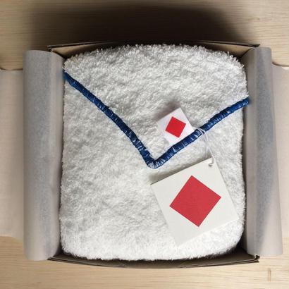 3月の送料無料 ギフトセット [限定] リトルボッコパイル another side  46×96cm スノーホワイト × ブルー