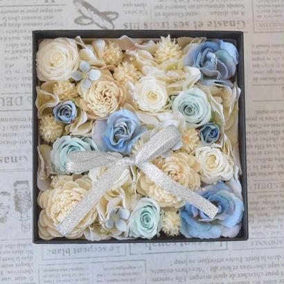 BOX FLOWER Blue