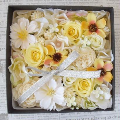 BOX FLOWER Yellow